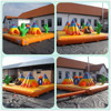 Western inflatable jumping bed fun city show house for sale
