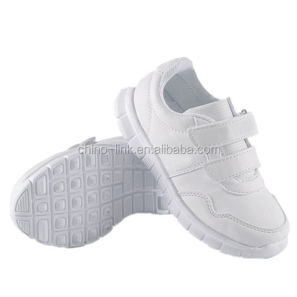 Children white sneakers shoes sports shoes walking shoes