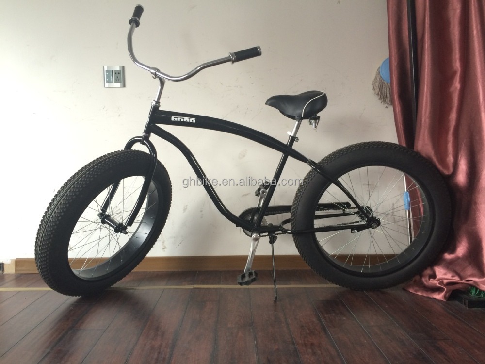 26 Single Sd Fat Tire Bike Fatbike Beach Cruiser