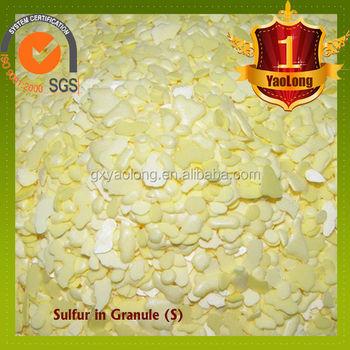 99.9% Granular Sulfur For Fertilizer,Agricultural,Feed ...