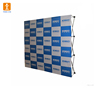 Easy-assemble tension fabric one fabric pop up display