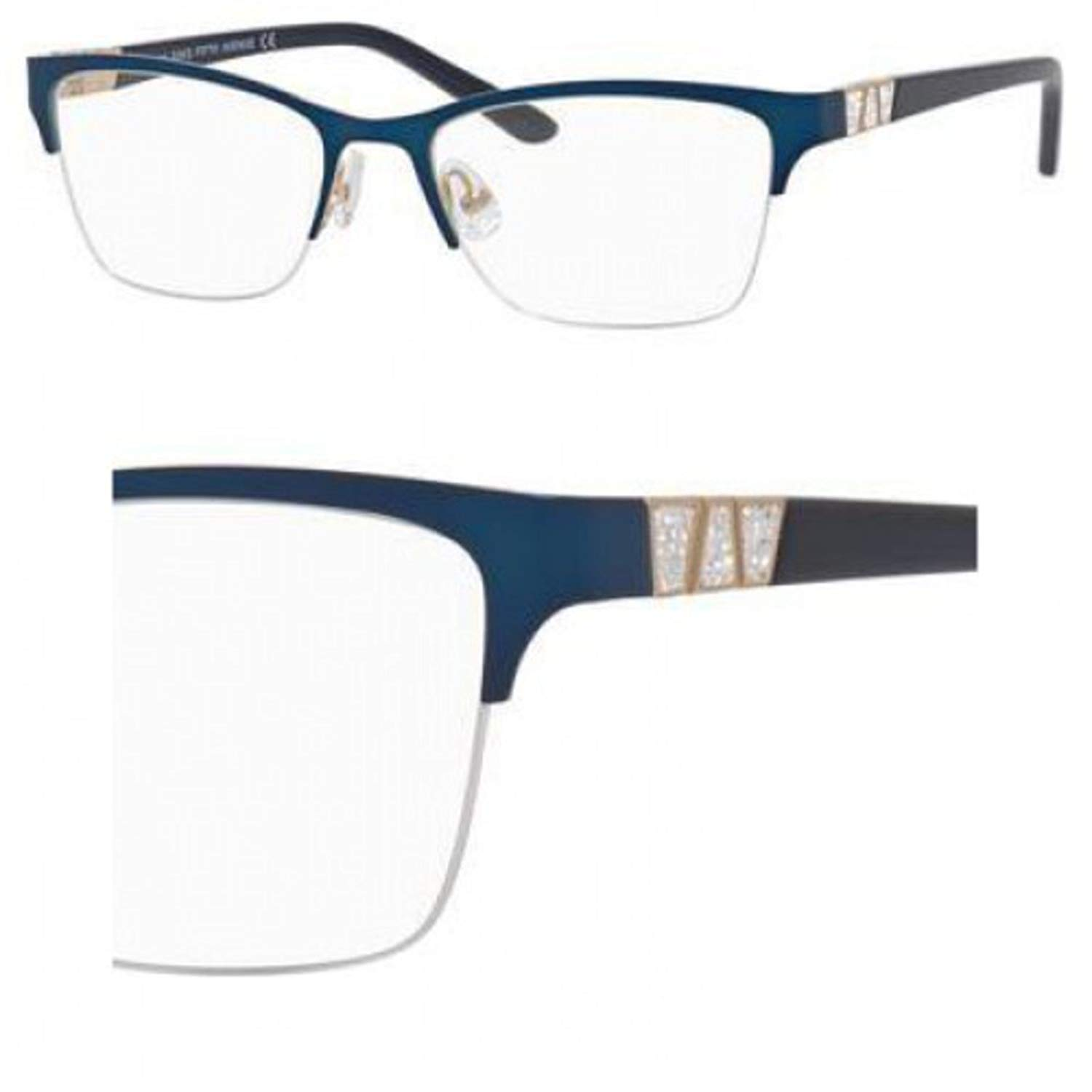 Eyeglasses Saks Fifth Avenue 305 0KY2 Blue Gold