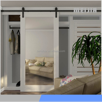 Security Sliding Closet Doors Mirrored Barn Door