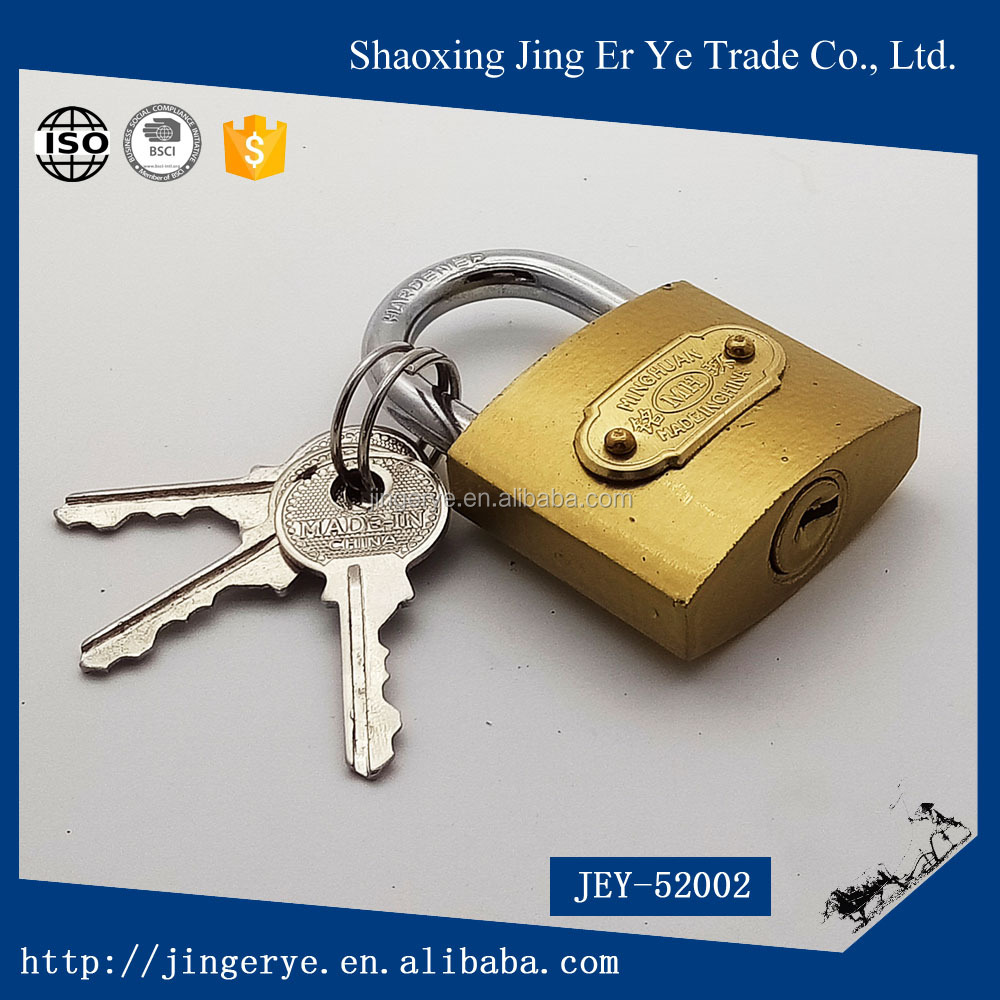 Brass lock cheap and fine finished Electroplated