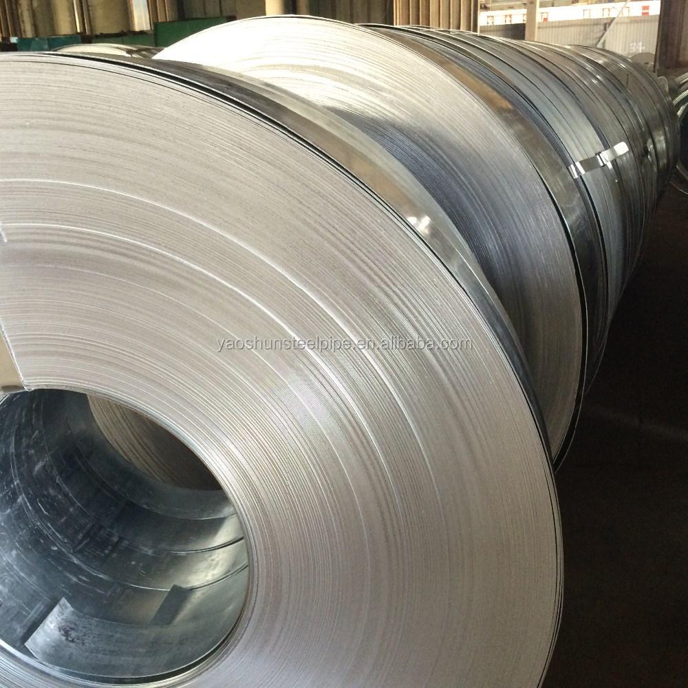 Galvanized Steel Ingot Distributor Belarus: Slit Edge/mill Edge Strip Galvaized/ Gi Strip Price List