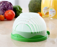 New Design Kitchen Tools Salad Cutter Bowl Easy Salad Maker