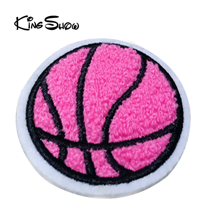 Custom low price basketball embroidery chenille patches