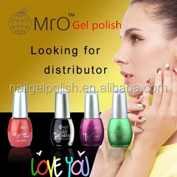 MRO free samples UV /Led soak off color gel nail polish