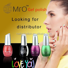 MRO free samples UV /Led soak off color gel nail polish gelpolish