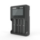 XTAR VC4 charger Universal LCD Screen Display USB Ni-MH/Ni-CD Li-ion 18650 18350 26650 Standard Battery Charger
