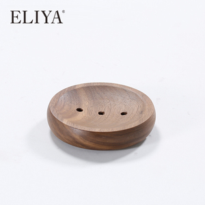 Eliya Natural Eco Friendly Bamboo Wholesale Hotel Wooden Soap Dish