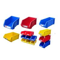 PP home storage spare parts plastic stackable container