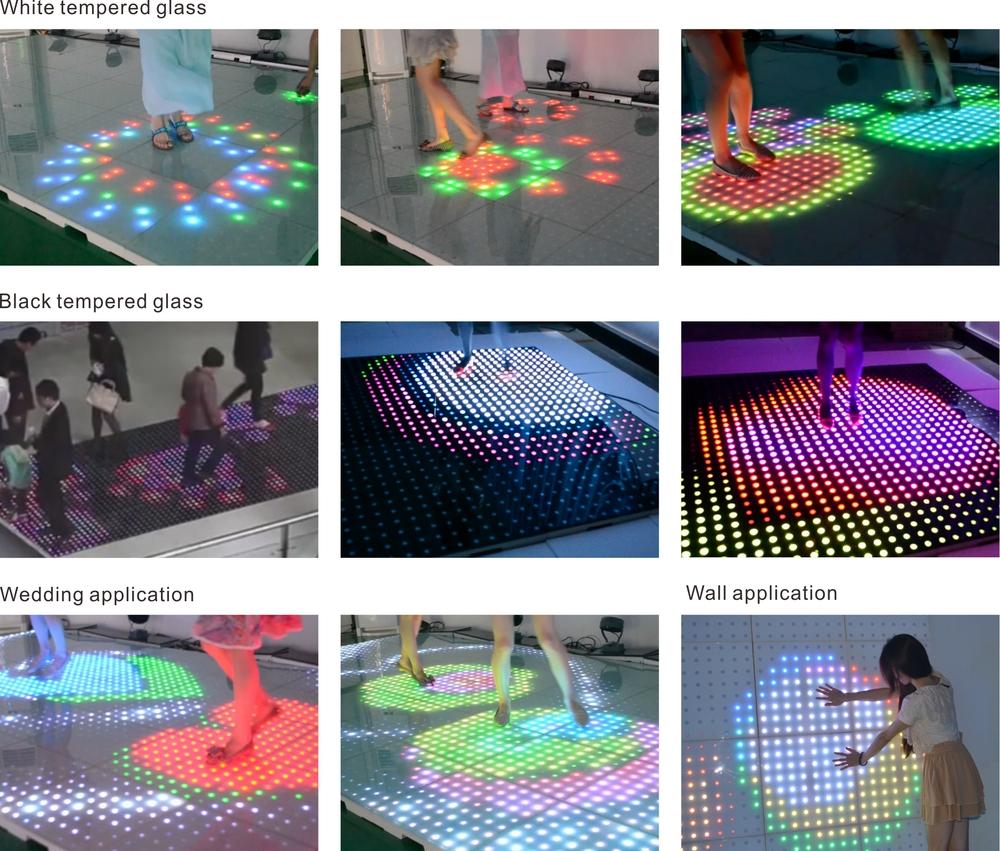 Seekway Full Color Led Dance Floor Lights