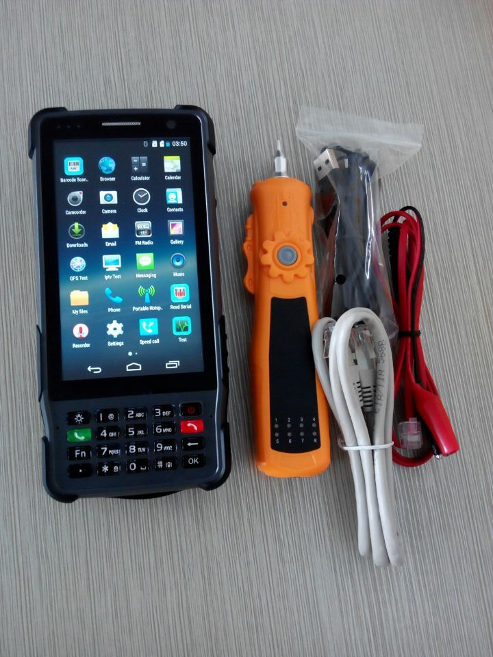 ST327 Android XDSL/ADSL2+ /VDSL2 Tester DMM Test cable trackeing VFL, OPM
