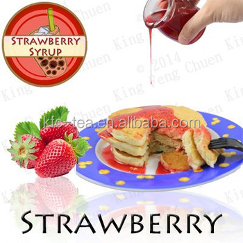 Strawberry concentrate juice