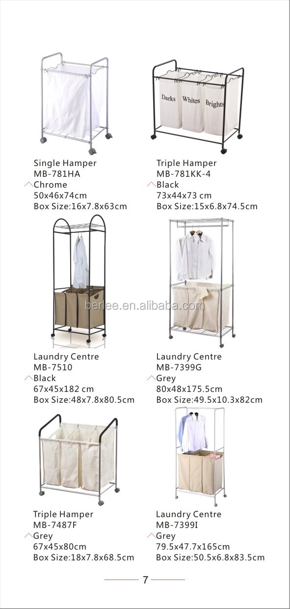 Folding Laundry Sorter/metal Rack Laundry Bag/x-frame Folding Metal ...