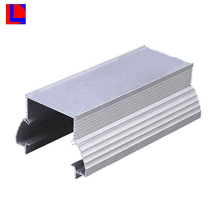 6000 series 6061 t3 silver and grey aluminum extrusion aluminum heat sink case