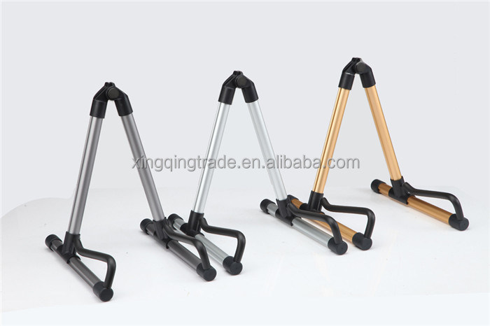 Universal Folding A-Frame Guitar Stand Frame Floor Rack Holder For Acoustic Guitar/Electric Guitar/Bass