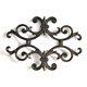wrought iron rosette,flower panel, cast iron railing panels