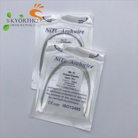 dental products orthodontic niti arch wire