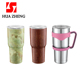HUAZHENG 20OZ/30OZ Double Wall Stainless Steel Vacuum Insulated Flask Travel Mugs Drinking Tumbler With Lid