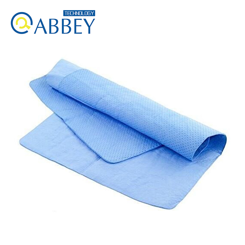Compressed Antibacterial Sports Towel Kit Instant Cooling Towel