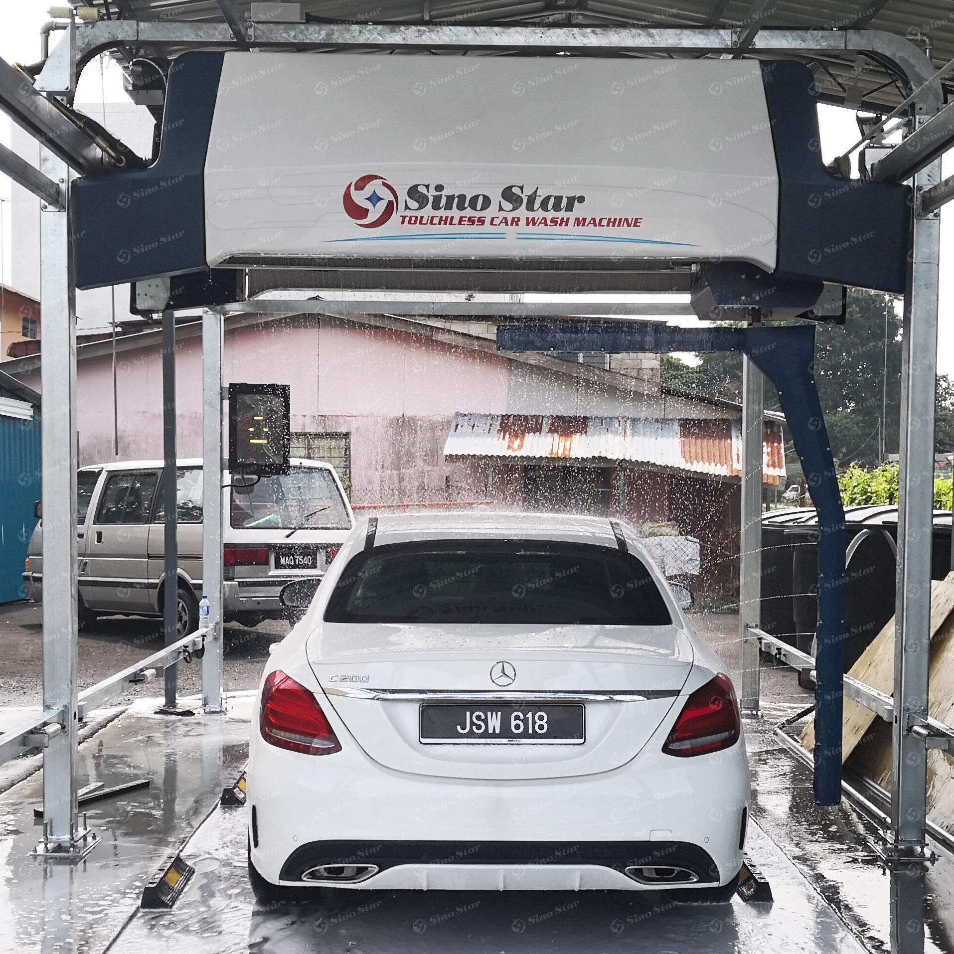No Contact Car Wash Machine Supplieranufacturers At Alibaba