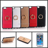 TPU metal ring stents mobile After the shell, For iphone 6s For iphone 6 plus phone case