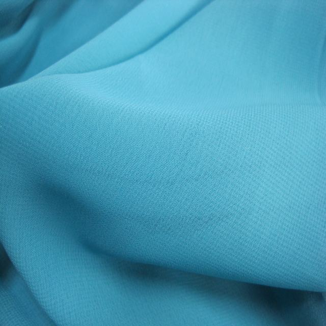 New design high quality 100D wholesale crepe chiffon fabric for fashion lady dresses