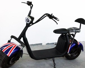 EEC COC approval 2018 Fashion Toodi Adult Used Two Wheel Scooter Electric Motorcycle