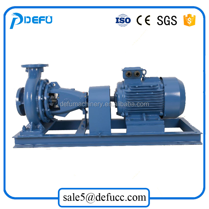 50/16 DA/DAZ series Leaves end suction horizontal centrifugal pump electric motor water pump