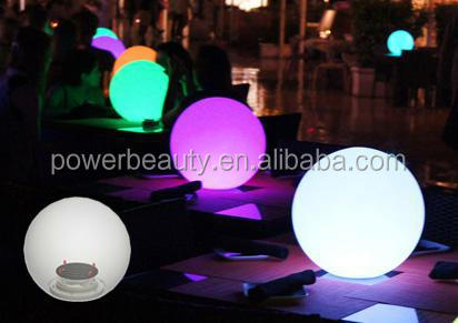Pretty Decoration Inflatable Led Ball/solar Led Ball Light Outdoor ...