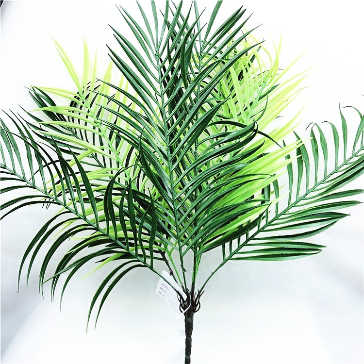 Tropical <strong>Leaves</strong> Decorations <strong>Green</strong> <strong>Artificial</strong> Plastic <strong>Green</strong> Palm Tree Leaf
