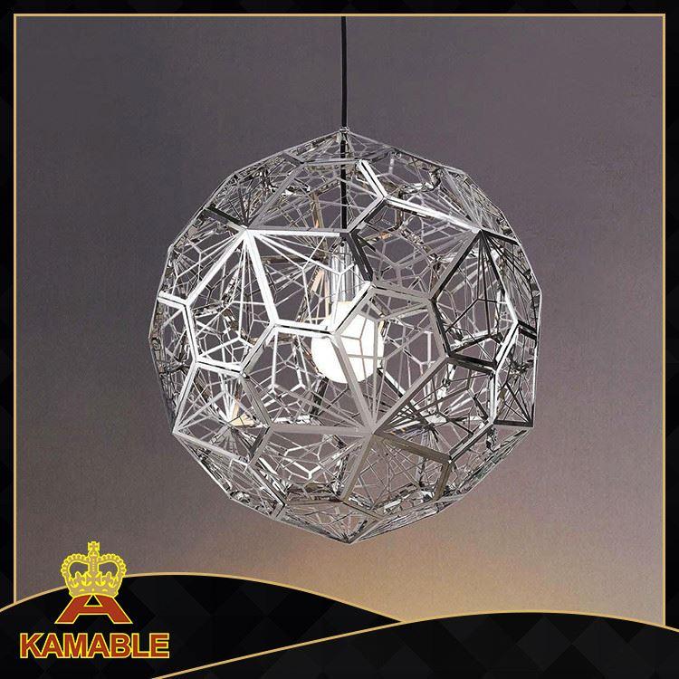 Modern Metal Ball Hanging Pendant Chandelier Lighting