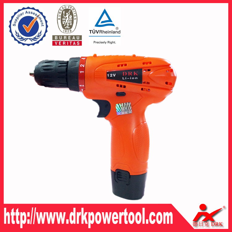 Charging cordless <strong>Drill</strong> with 12V battery