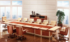 Luxury boat-shaped conference table,Rectangular conference table base(BF08-0208)