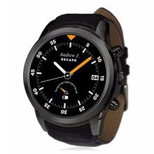 2016 nueva llegada Bluetooth elegante reloj X5 3 G WiFi GPS SmartWatch apoyo WiFi GPS Monitor de ritmo cardíaco reloj teléfono para IOS Xiaomi