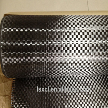 Multifunctional 200g 12k carbon fiber spread tow plain fabric with high quality