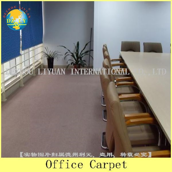 Commercial office carpet striped design/exhibition carpet