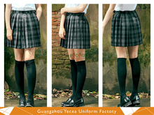 Black leather mini skirts and boots