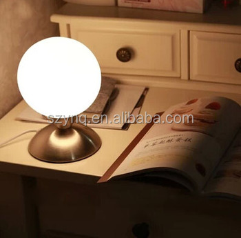 Hot Sale 4 Stage Touch Dimmer Glass Led Table Lamp Buy Led Table