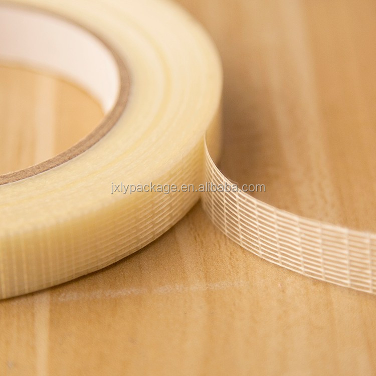 Cross Transparent Carbon Fiber Adhesive Tape