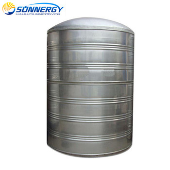 5000 liters 304 stainless steel heat preserve solar water tank for shower