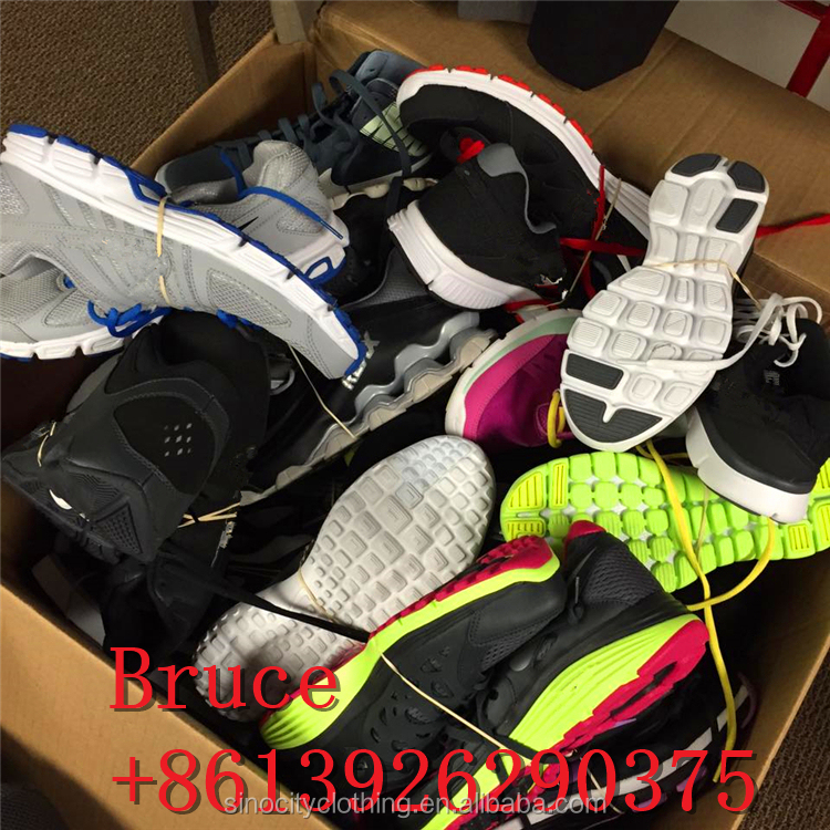 used branded sport shoes/used name branded sneakers