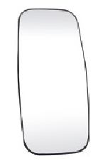 Truck Convex Mirror Glass Heated For Volvo FH12/16