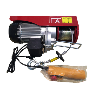 120 Volt Winch >> Small Wire Rope Hoist 110 120 220 230 Volt 120v Electric Winch