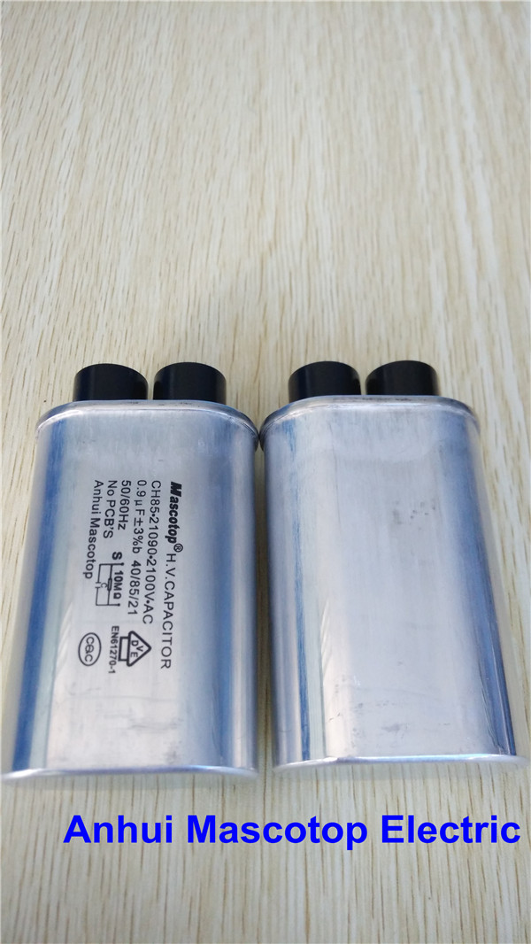 Microwave Oven Capacitor 0 9uf 2100v