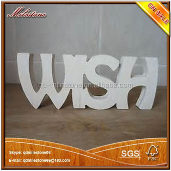Best Christmas Gift Wooden 3d Alphabet Letters For Home Decoration