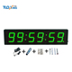 4 inch 6 digits LED digital clock mechanical water timer