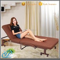 Metal home Furniture Foldable Foam Folding Bed